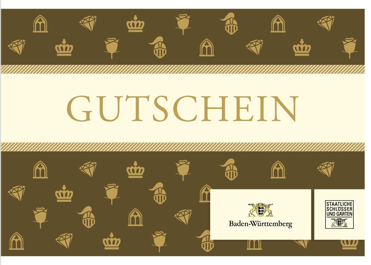 Gutscheinkarte.Staatliche Schlosser Und Garten Baden Wurttemberg