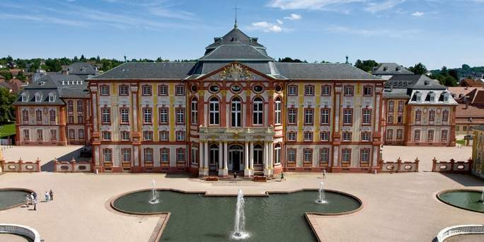 Schloss Bruchsal;  Foto: Staatliche Schlösser und Gärten Baden-Württemberg, Achim Mende