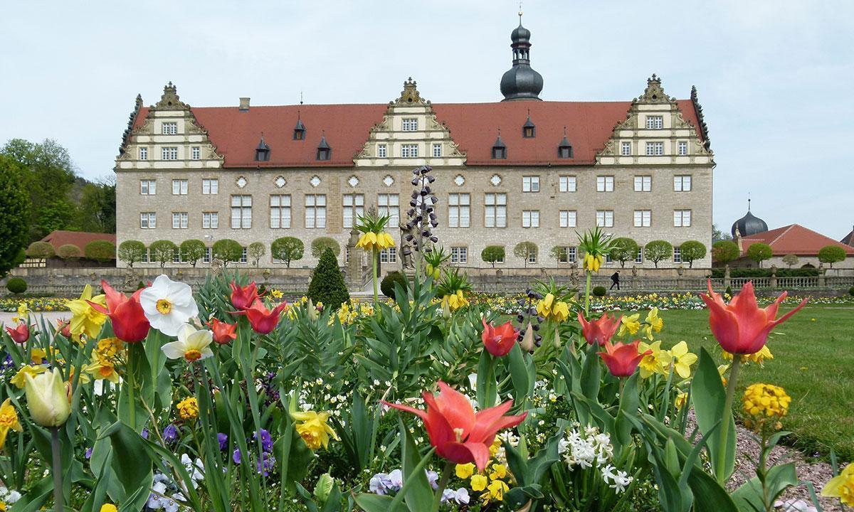 Schlossgarten Weikersheim;  Foto: Staatliche Schlösser und Gärten Baden-Württemberg, Sonja Wünsch