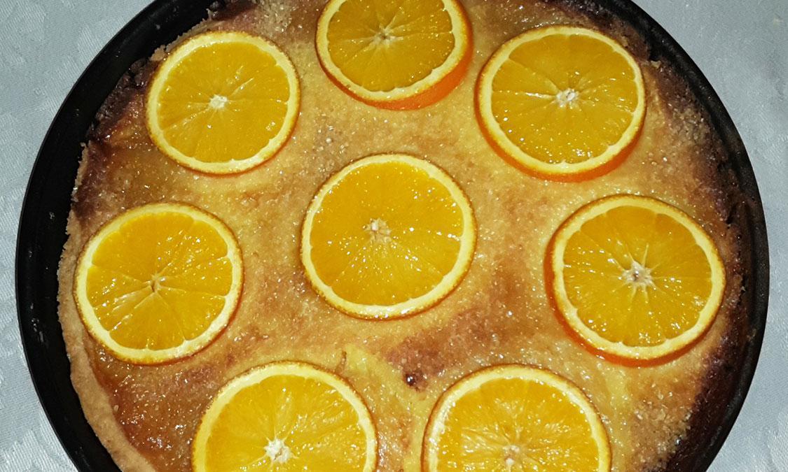 Orangentarte; Foto: Staatsanzeiger für Baden-Württemberg GmbH & Co. KG, Barbara Erbsen-Haim