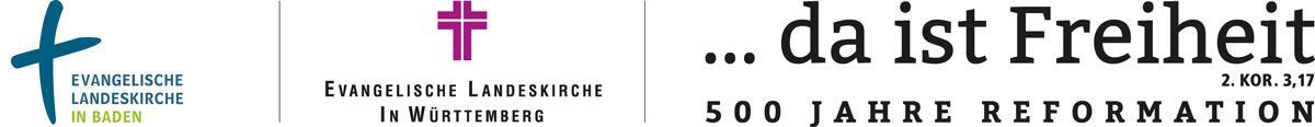 Logos der Evangelischen Landeskirchen Württemberg und Baden