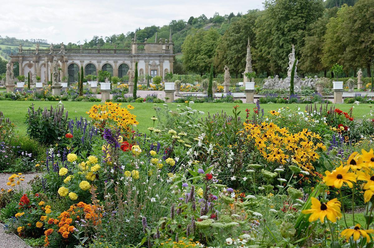 Schloss und Schlossgarten Weikersheim, Schlossgarten; Foto: Staatliche Schlösser und Gärten Baden-Württemberg, Niels Schubert