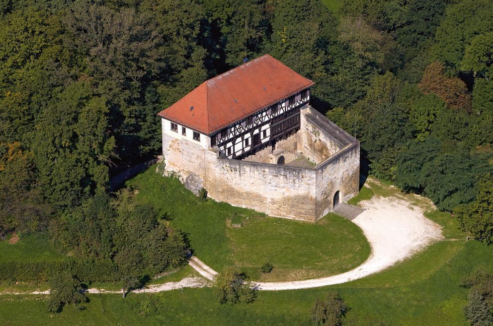 Burg Wäscherschloss; Foto: Staatliche Schlösser und Gärten Baden-Württemberg, Achim Mende