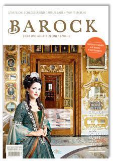 """Titel des Magazins zum Themenjahr """"Barock – Licht und Schatten einer Epoche"""""""