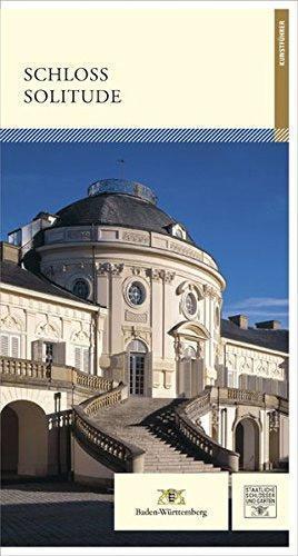 """Titel des Kunstführers """"Schloss Solitude""""; Gestaltung: Staatliche Schlösser und Gärten Baden-Württemberg, JUNG:Kommunikation GmbH"""