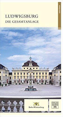 """Titel des Kunstführers """"Ludwigsburg. Die Gesamtanlage""""; Gestaltung: Staatliche Schlösser und Gärten Baden-Württemberg, JUNG:Kommunikation GmbH"""