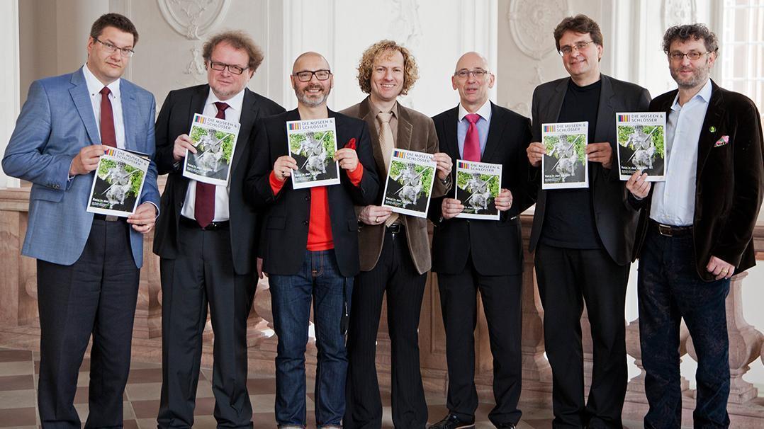 Vertreter des Netzwerks; Foto: Netzwerk der Museen & Schlösser in der Metropolregion Rhein-Neckar