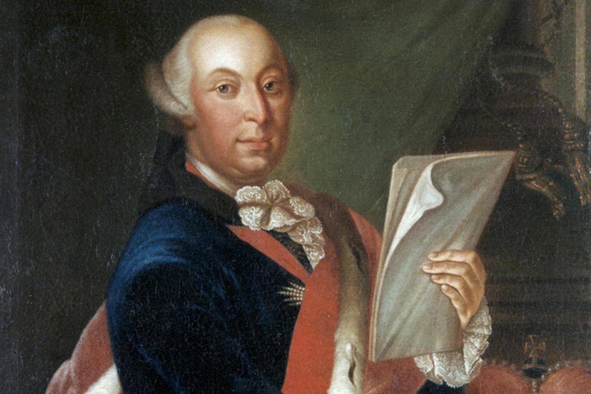 Porträt von Herzog Carl Eugen im Schloss Solitude in Stuttgart; Foto: Landesmedienzentrum Baden-Württemberg, Dieter Jaeger