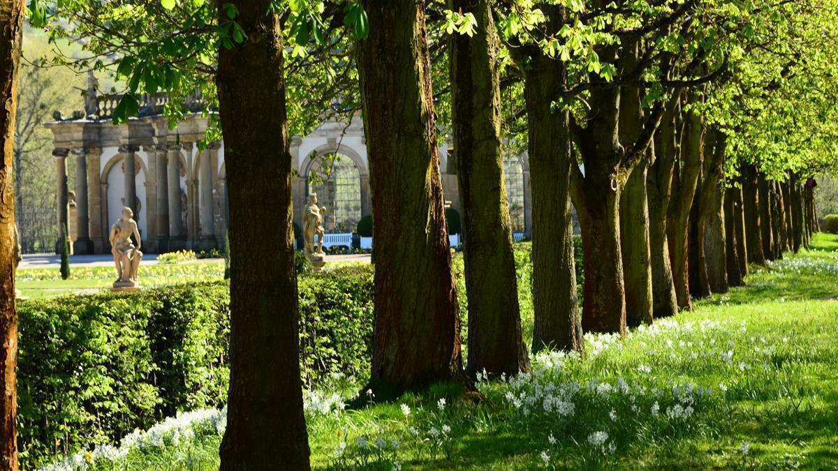 Schlossgarten Weikersheim; Foto: Staatliche Schlösser und Gärten Baden-Württemberg, Ortsverwaltung Weikersheim