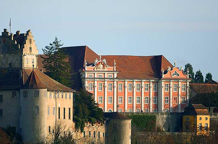 Neues Schloss Meersburg;  Foto: Staatliche Schlösser und Gärten Baden-Württemberg, Achim Mende