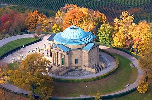 Die Grabkapelle auf dem Württemberg