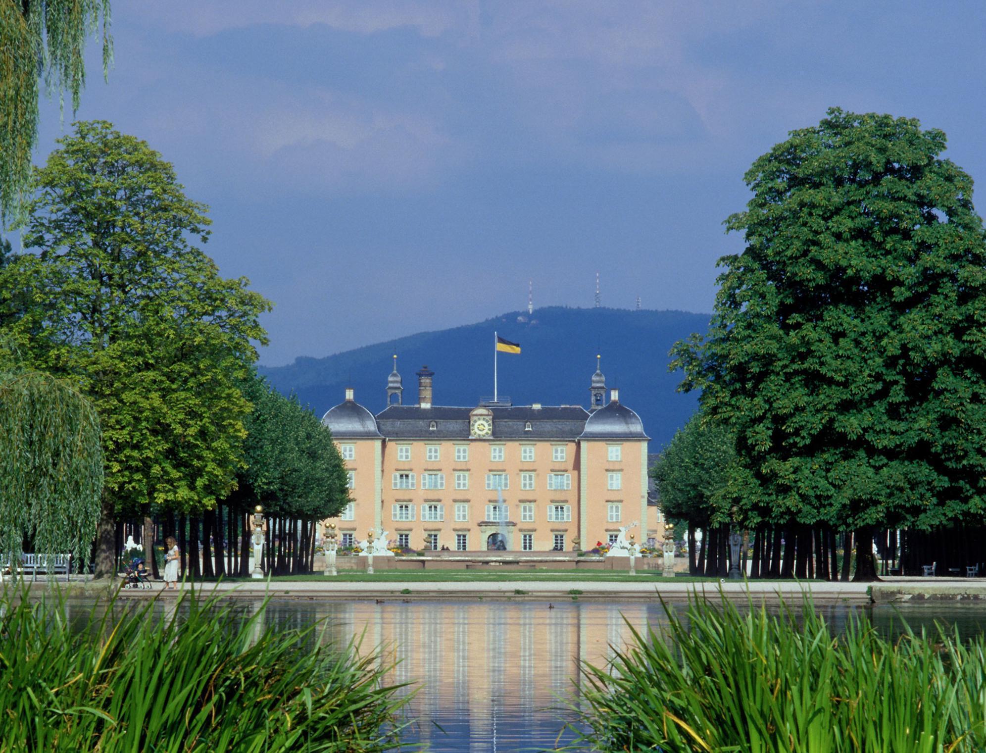 Schloss und Schlossgarten Schwetzingen; Foto: Staatliche Schlösser und Gärten Baden-Württemberg, Steffen Hauswirth