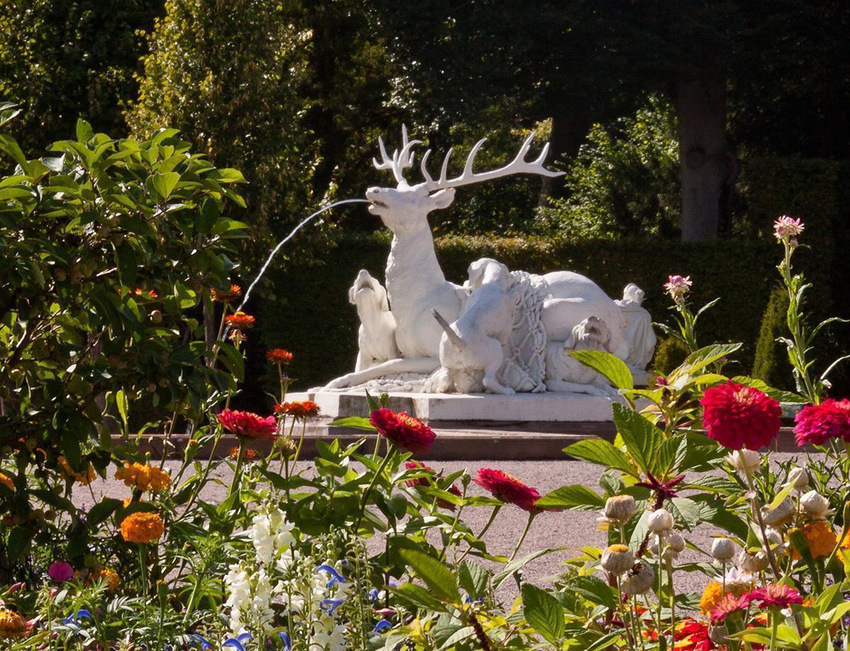 Schlossgarten Schwetzingen;  Foto: Staatliche Schlösser und Gärten Baden-Württemberg, Uschi Wetzel