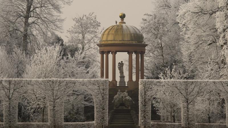 Schloss und Schlossgarten Schwetzingen, Apollotempel; Foto: Staatliche Schlösser und Gärten Baden-Württemberg, Ursula Wetzel