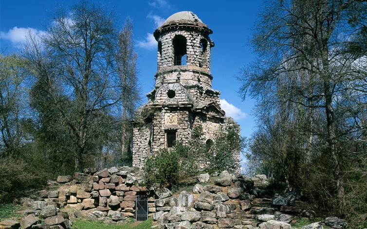 Merkurtempel im Schwetzinger Schlossgarten; Foto: Landesamt für Denkmalpflege, Bernd Hausner