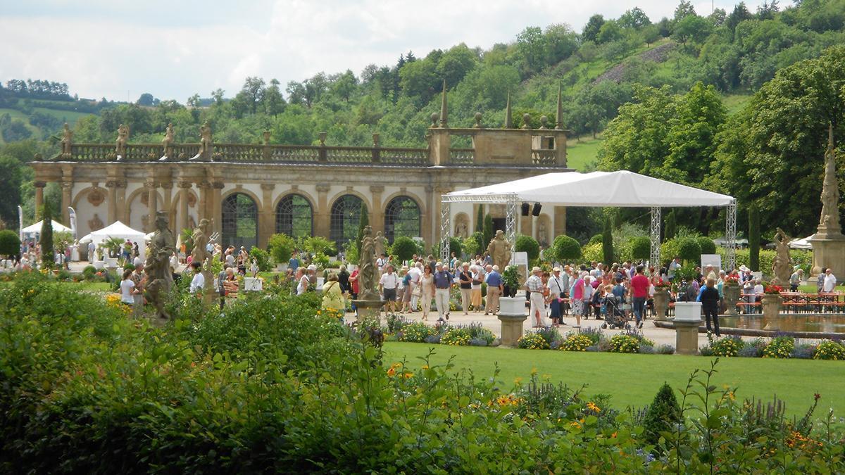 Fest im Schlossgarten Weikersheim; Foto: Staatsanzeiger für Baden-Württemberg, Petra Schaffrodt