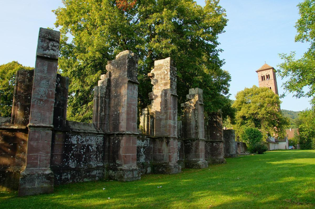 Ruins of the Church of St. Peter and Paul. Image: Calw Tourist Information