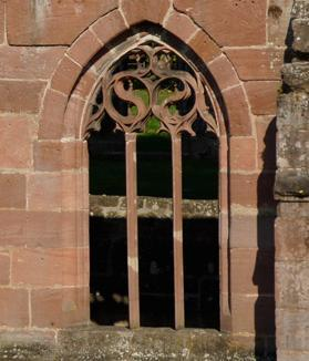 Cloister window at Hirsau Monastery. Image: Calw Tourist Information