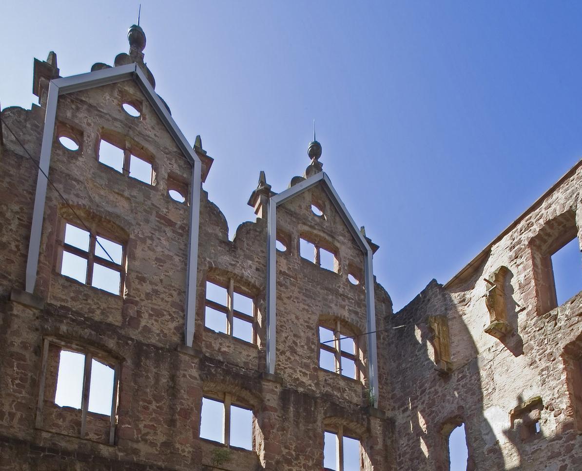 Innenansicht des Jagdschlosses von Kloster Hirsau; Foto: Schlösser und Gärten Baden-Württemberg, Andrea Rachele