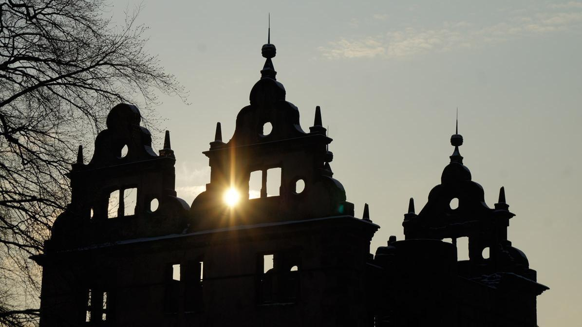 Jagdschloss von Kloster Hirsau im Gegenlicht; Foto: Stadtinformation Calw