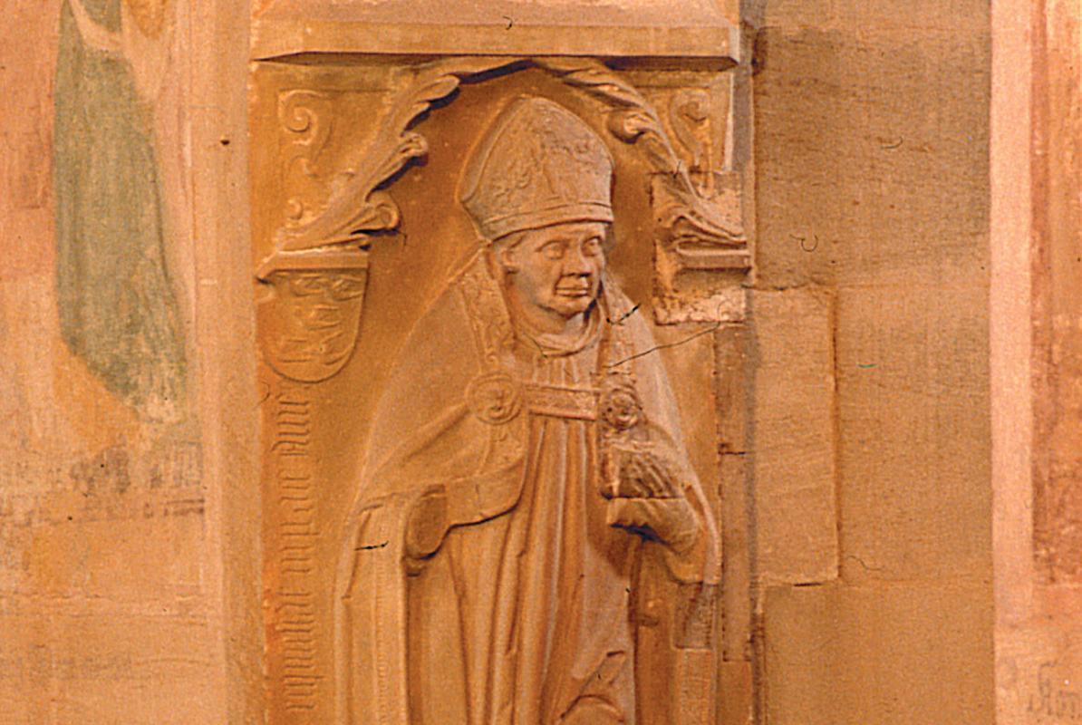 Grabmal des Abtes Sebastian Sitterich, Kloster Lorch; Foto: Ulrich Rund