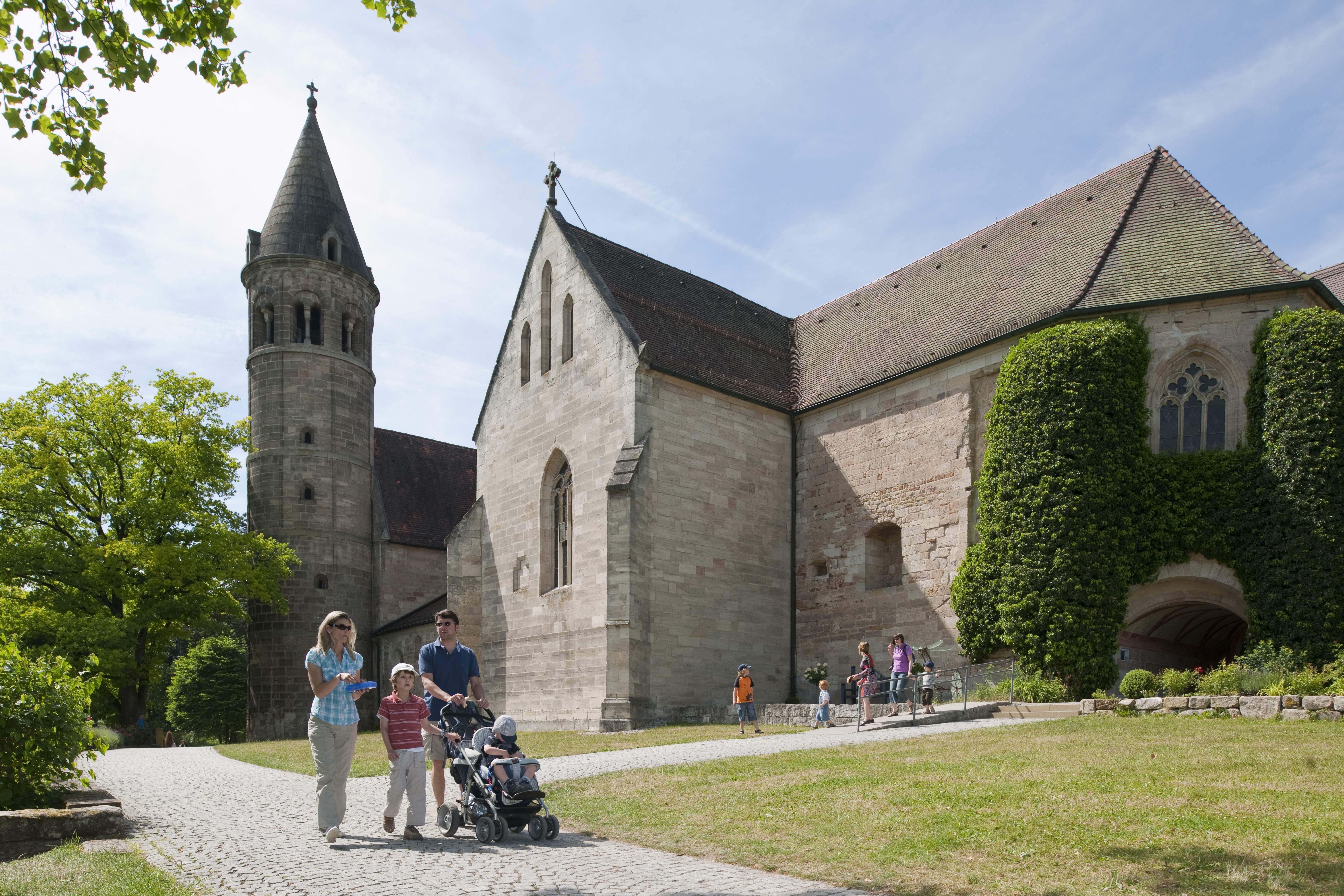 Kloster Lorch; Foto: Staatliche Schlösser und Gärten Baden-Württemberg, Rolf Schwarz