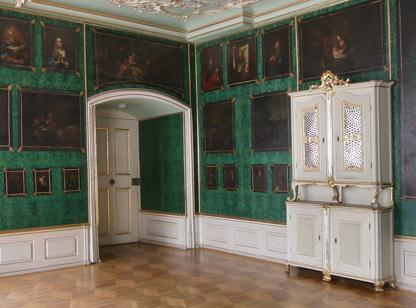 Ausschnitt Abtszimmer im Kloster Schöntal; Foto: Foto Besserer
