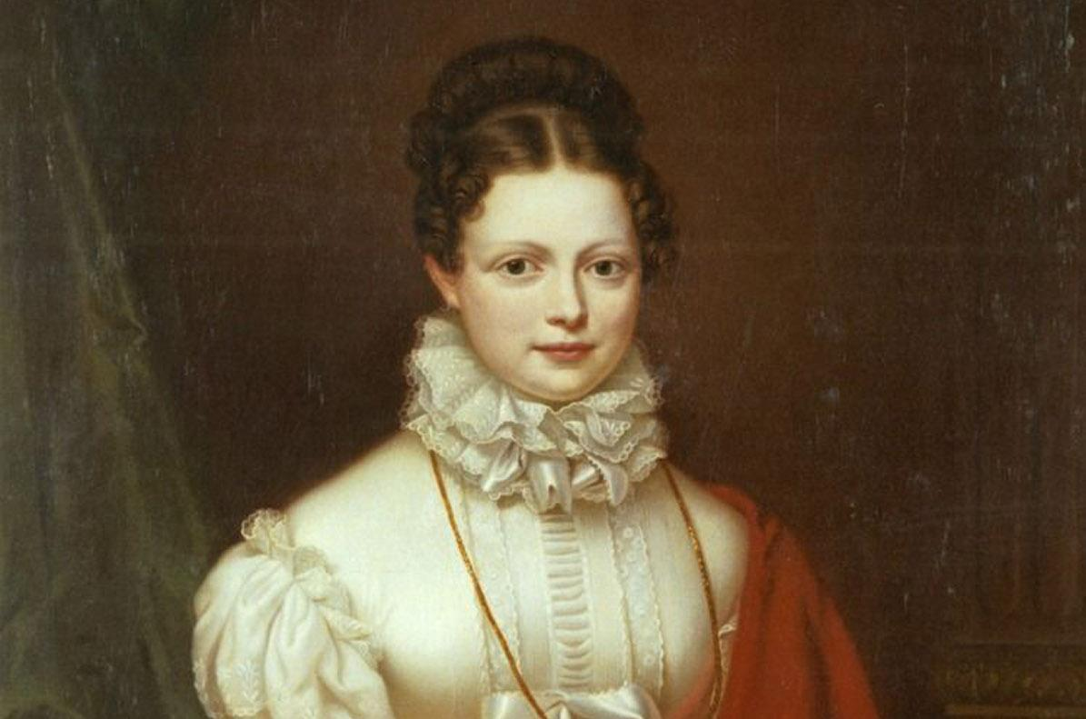 Katharina von Württemberg, Gemälde von Stirnbrand um 1816; Foto: Landesmedienzentrum Baden-Württemberg, Dieter Jäger