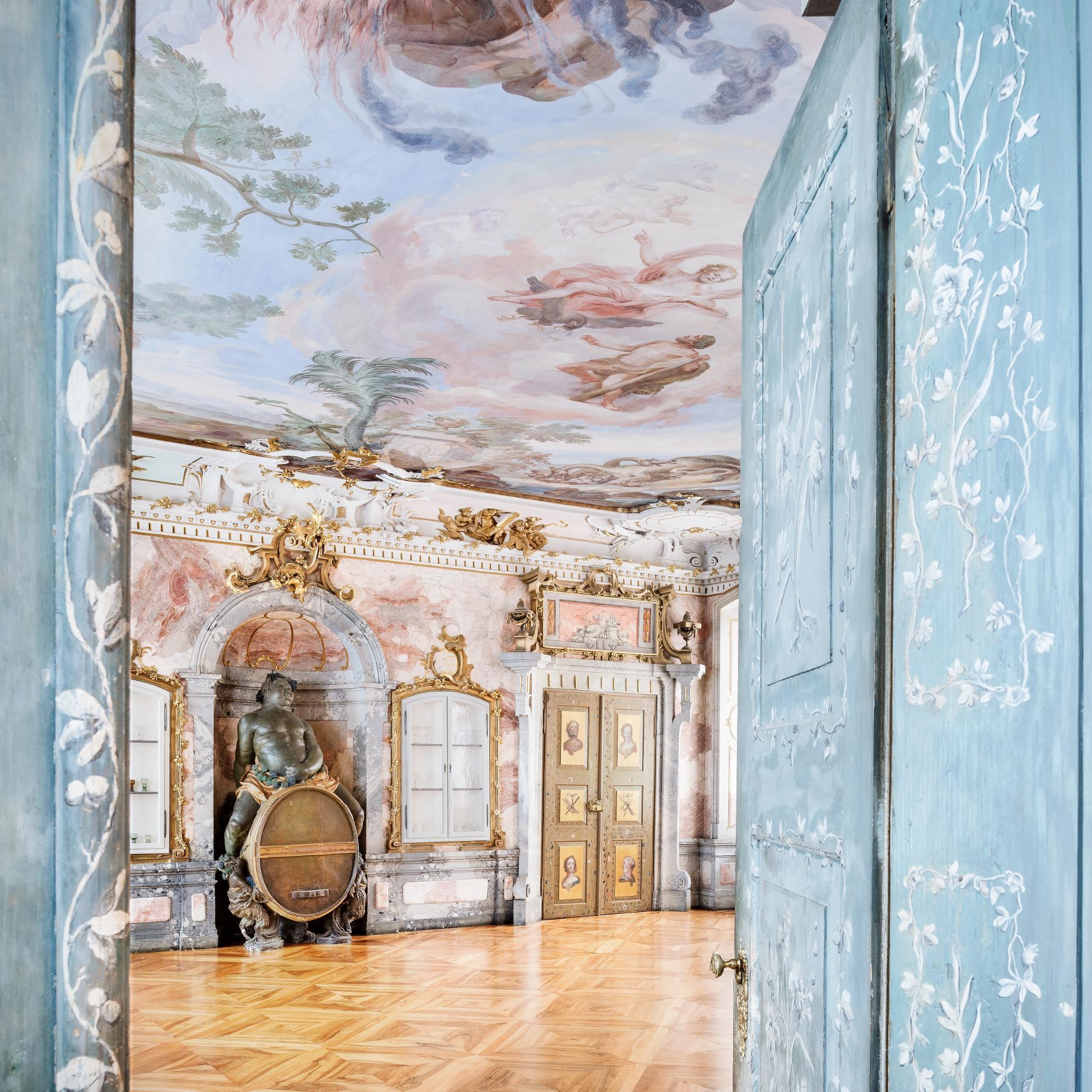 Neues Schloss Tettnang, Bacchussaal; Foto: Staatliche Schlösser und Gärten Baden-Württemberg, Günther Bayerl