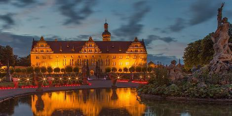 Musikfest in Schloss und Schlossgarten Weikersheim; Foto: Jens Hackmann