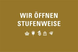Motiv der Staatlichen Schlösser und Gärten Baden-Württemberg zur stufenweisen Öffnung