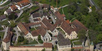 Kloster und Schloss Bebenhausen von oben