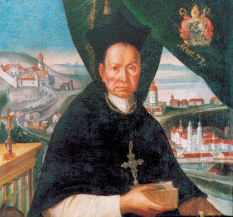 Portrait of Abbot Knittel. Image: Foto Besserer
