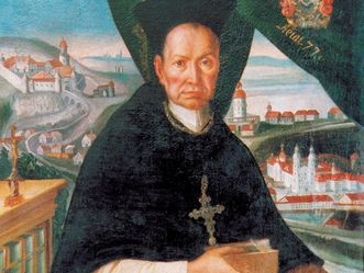 Kloster Schöntal, Porträt von Abt Knittel