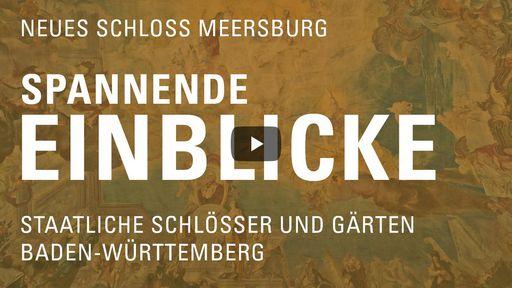 """Startbildschirm des Films """"Spannende Einblicke mit Michael Hörrmann: Neues Schloss Meersburg"""""""