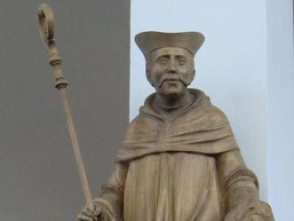 Abt Eberhard von Rohrdorf, Darstellung in der Pfarrkirche in Rohrdorf