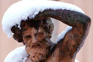 Skulptur im Schlossgarten Rastatt
