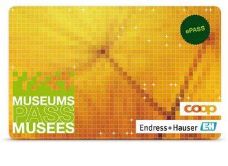 Der Museums-PASS-Musées; Gestaltung: Verein Museums-PASS-Musées