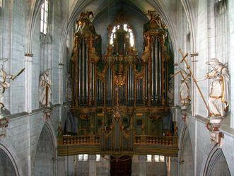 Kloster und Schloss Salem, Dreifaltigkeitsorgel im Münster