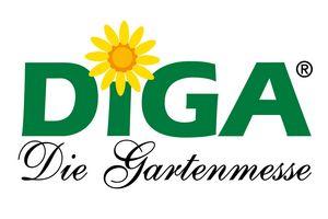 Logo der DiGa-Gartenmesse; Gestaltung: SüMa Maier Messen Märkte und Events GmbH