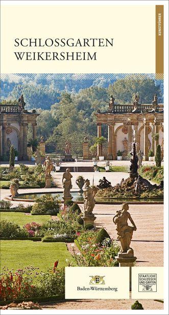 """Titel des Kunstführers """"Schlossgarten Weikersheim""""; Gestaltung: Staatliche Schlösser und Gärten Baden-Württemberg, JUNG:Kommunikation GmbH"""