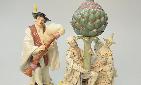 Porzellanfiguren aus Schloss Bruchsal