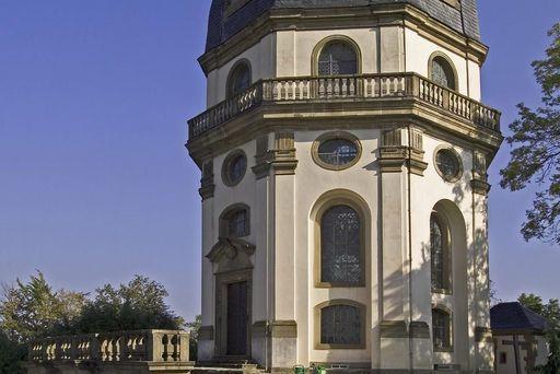 Ansicht der Heilig-Grab-Kapelle auf dem Kreuzberg