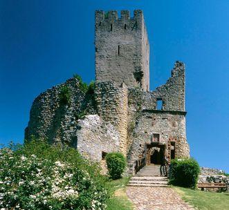 Oberburg von Burg Rötteln