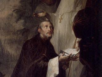 Stiftung Salems durch Guntram von Adelsreute, Andreas Brugger, 18. Jahrhundert