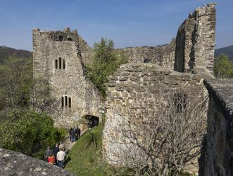 Burg Badenweiler, Burgruine