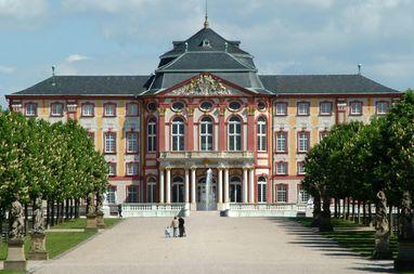 Schloss Bruchsal, Gartenseite; Foto: Staatliche Schlösser und Gärten Baden-Württemberg, Christoph Hermann