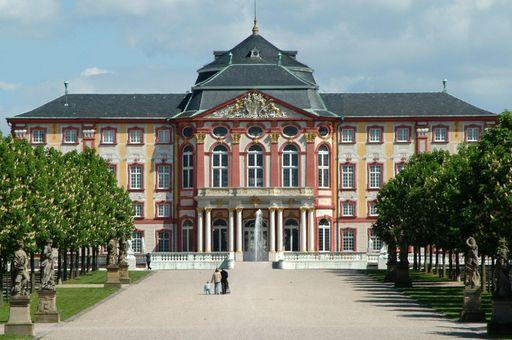 Schloss Bruchsal, Gartenseite