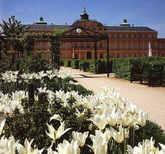 Residenzschloss Rastatt und Schlossgarten