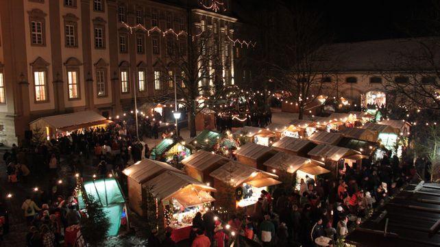 Kloster Schöntal, Weihnachtsmarkt; Foto: Gemeinde Schöntal